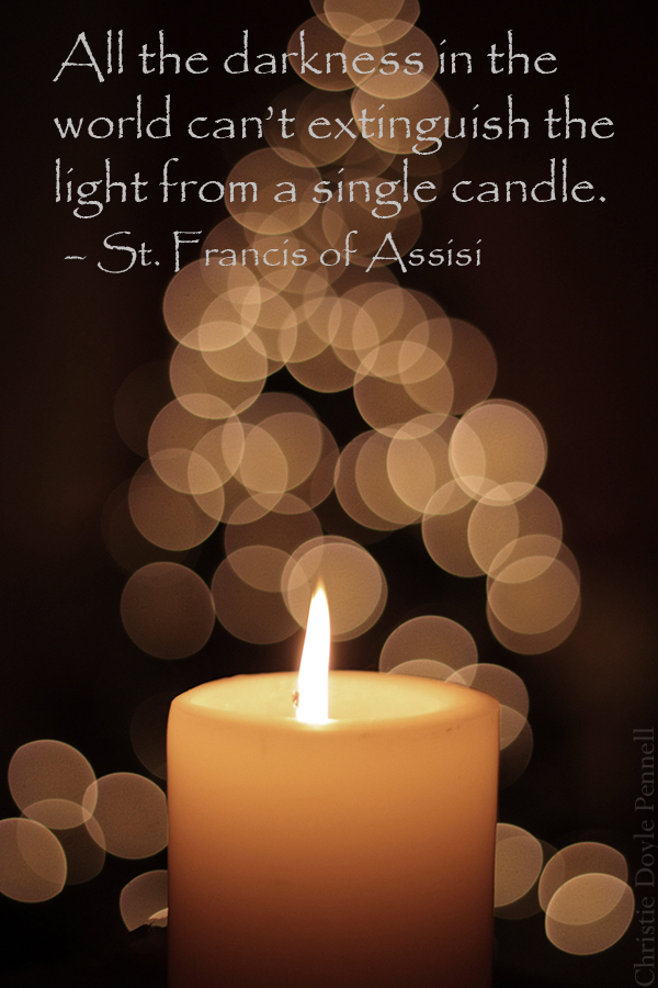 Light St. Francis of Assisi Quotes